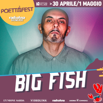 Big Fish al Poetto Fest!