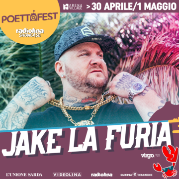 Jake La Furia, secondo big al Poetto Fest!